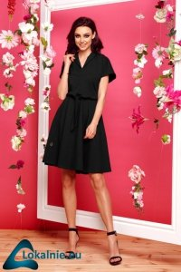Sukienka dresowa elegancka L293