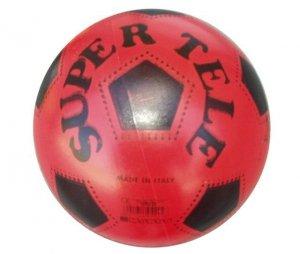 Gumowa piłka z nadrukiem SUPER TELE