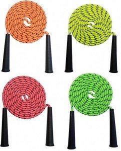 Kolorowa skakanka 4 wersje kolorystyczne 2,5 m