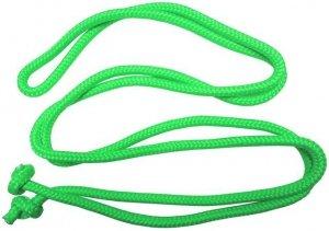 Skakanka gimnastyczna - 3 m, zielona