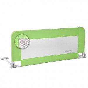 Barierka do łóżka dla dzieci 102 cm, zielone