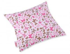 Poszewka na poduszkę - motylki różowe