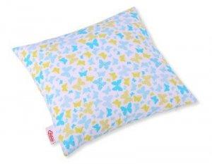 Poszewka na poduszkę -  motylki niebieskie