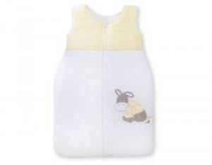 Śpiworek niemowlęcy Osiołek Lucek żółty