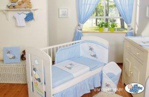 Pościel 2-cz- Osiołek Lucek niebieski