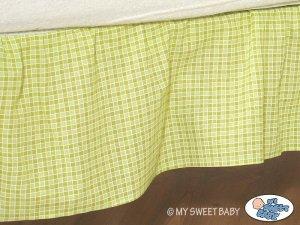 Falbanka maskująca 140x70cm- Dobranoc zielone