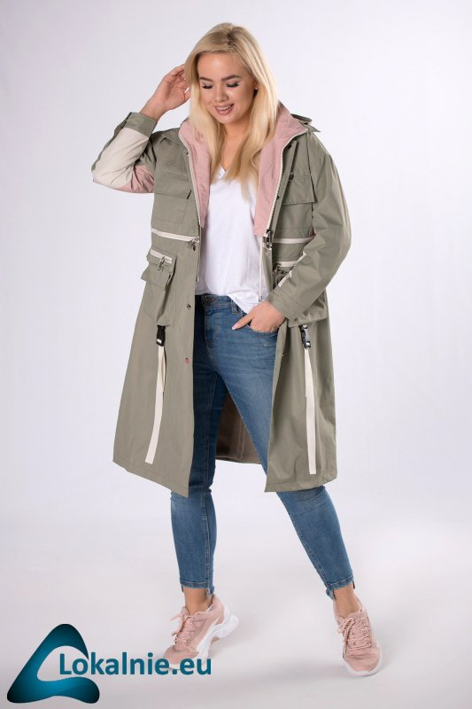 płaszcz 2w1