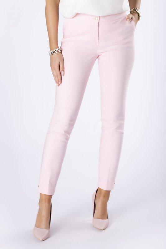 spodnie cygaretki w kant