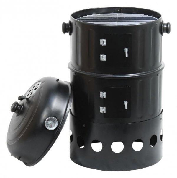 Grill węglowy / wędzarnia PISA - 3w1, 40 cm
