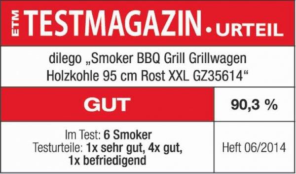 Grill ogrodowy Lokomotywa XXL + osłona grilla