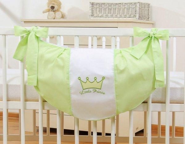 Przybornik- Torba na zabawki- Little Prince/Princess zielone