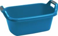 Miska 35L owalna z uchwytami niebieska