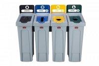 Stacja do Recyklingu Slim Jim® 5 strumieni