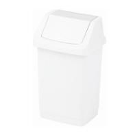 Kosz na śmieci Click-It 15L biały