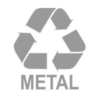 Etykieta do segregacji METAL