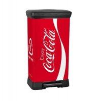 Kosz na śmieci Deco Bin 50L Coca Cola