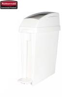 Kosz sanitarny do damskiej toalety 20L white