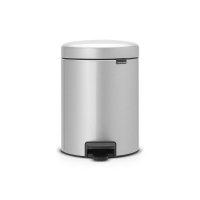 Kosz Pedałowy NEWICON 5L Metallic Grey