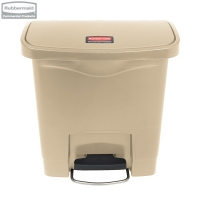 Kosz Slim Jim® Step-On 15L Resin Containers beige