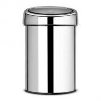 Kosz TOUCH BIN  3L Brilliant Steel