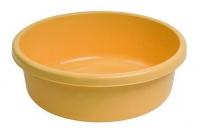 Miska 9L okrągła żółta