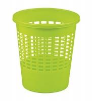 Kosz na papier 10L mix zielony/pomarańczowy