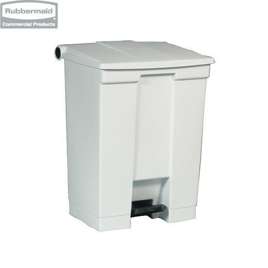 Pojemnik na śmieci Step-On Container 68,1L white