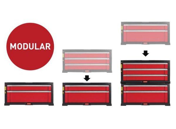 Regał 5 szuflad Tool Chest Set