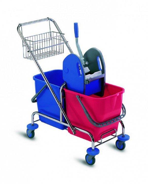 Wózek do sprzątania Linea 993 2x25L