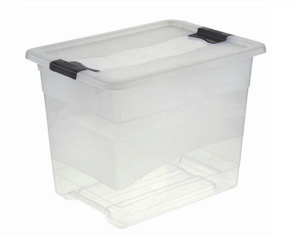 Pojemnik Crystal-box 24L transparentny