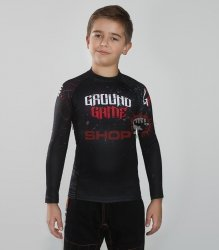 Rashguard dziecięcy SAMURAI MASK KIDS Ground Game