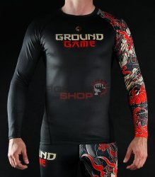 Rashguard męski YOKAI 2.0 Ground Game
