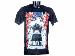 T-shirt męski SYANT Born to be Muay Thai