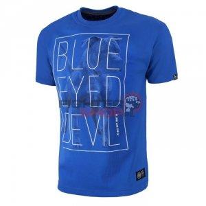 T-shirt Męski BLUE EYED DEVIL '18 Pit Bull
