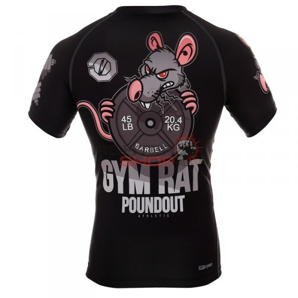 Rashguard męski GYM RAT Poundout
