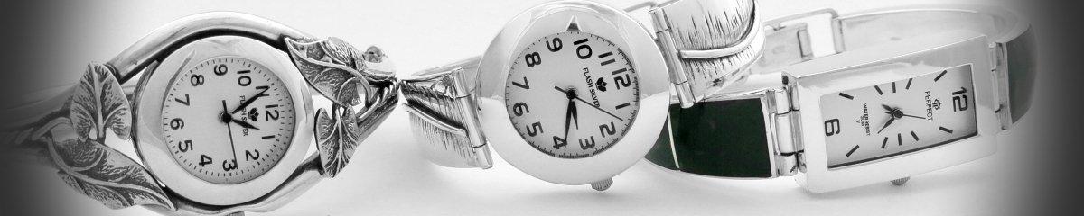 Nowoczesne zegarki ze srebra - Sklep online