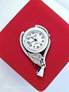 Szkoda że nie widzisz tego pięna zegarka srebrnego