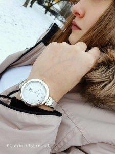 Zegarek ze srebra kod 875