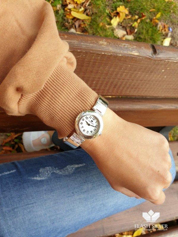 Srebrny zegarek kod 912