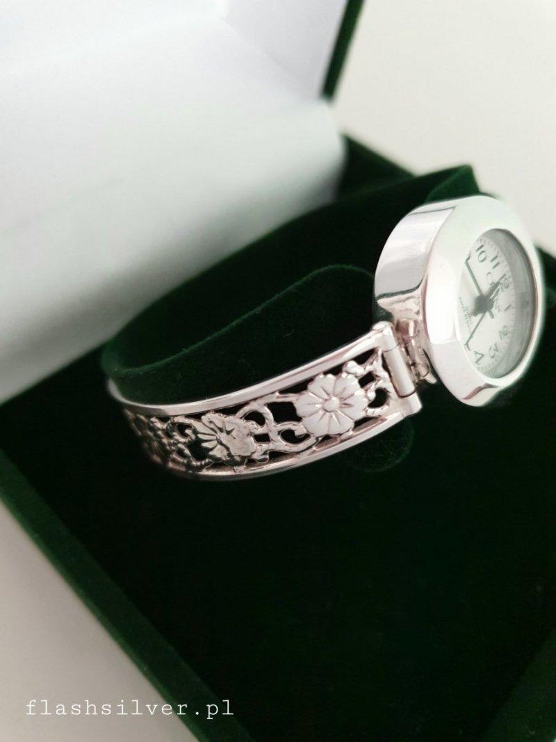 Zegarek ze srebra kod 812