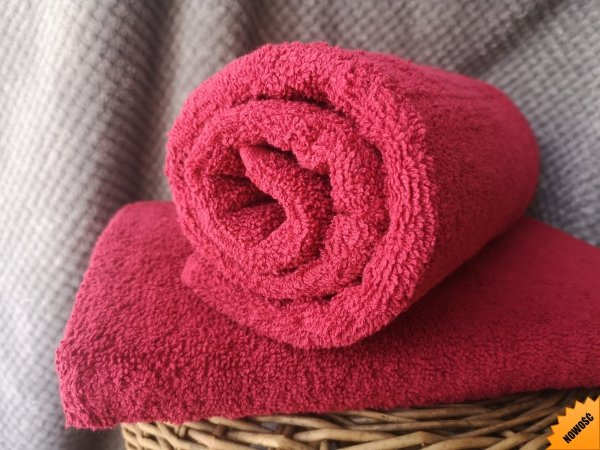ręcznik kąpielowy 70x140 cm bawełna bordowy