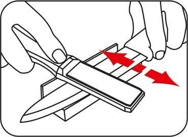Diamentowa ostrzałka do noży ceramicznych Taidea T1102D