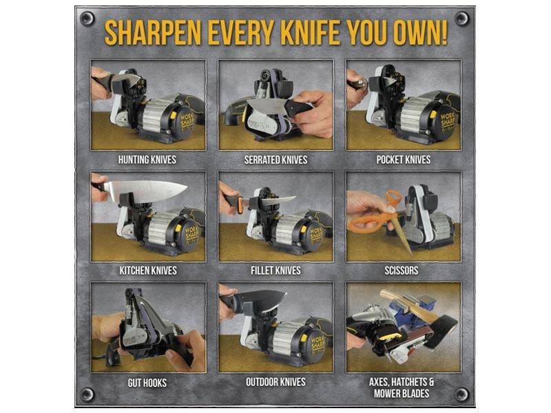 Ostrzałka elektryczna Work Sharp Ken-Onion-Edition