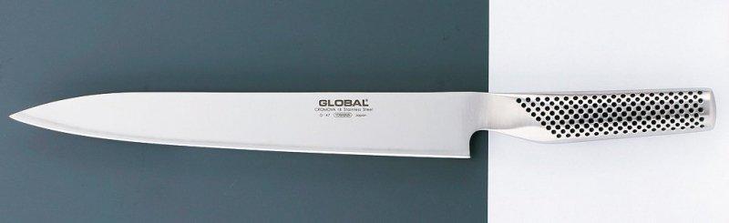 Nóż do plastrowania Sashimi-Yo 25cm Global G-47
