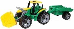 Traktor z przyczepą i łyżką 108 cm Luzem w kartonie