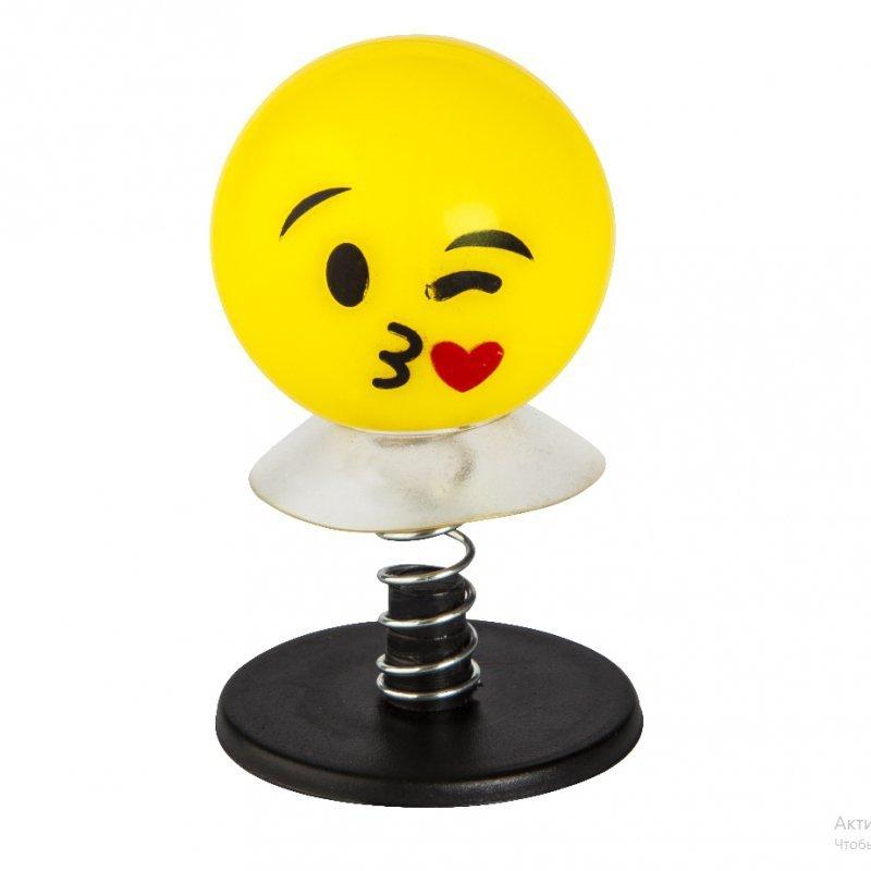 Skoczek emoji sprężynka przyssawka