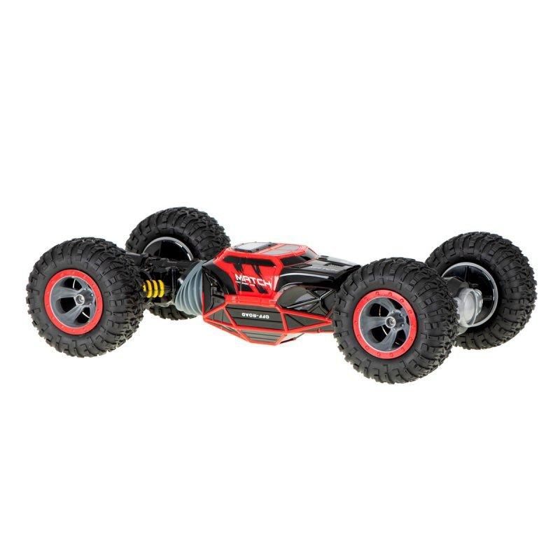 Samochód RC dwustronny z przegubam 49cm czerwony