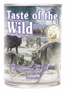Taste of the Wild Puszka Sierra Mountain 390g