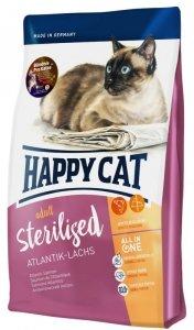 Happy cat Supreme Sterilised łosoś 10kg