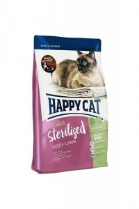 Happy cat Supreme Sterilised jagnięcina 10kg